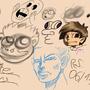 Random sketch 06 12 2013 by SpanglishHorse