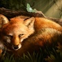 Fox & Moth by bonbon3272