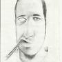 Pencil Selfie by Fleshbag