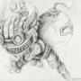 Ziggs in Pencil by Shayl