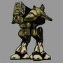 Metal gear TX-55 by lazaromartinez3d