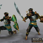 3D Game Character: Persia Hero