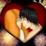 Kissing couple by DoloresC