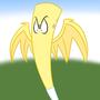 Fluttershy Bat by MofetaFanBoyNG
