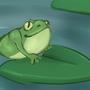Frog by panda444