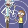 rick and morty by BuddyComics