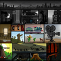 Collage of pixel art by UltimoGames
