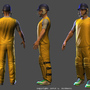 3D character model: Athlete