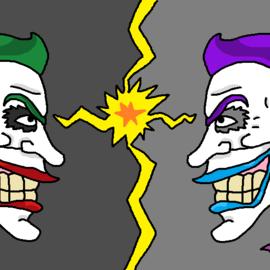 Joker v.s Jester by Tedecamp on Newgrounds
