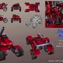 3D game model: Blaster Master by sanhueza