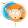 Balloon Head illustration by tripcatkep