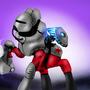Tesla pony trooper by bologen111