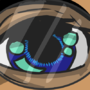 Blue eyes (Manga Style) by DIWAKAR