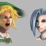 Jinx & Link by ciliath