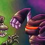 Pc Bot Vs Xbox One Kaiju by megadrivesonic