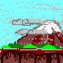 Pixel Fall by DIWAKAR