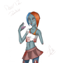 Zombie Girl by ZenithControl