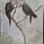 Birds Kissing by linda-mota