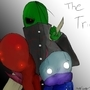 Trio by JaredGagnonArt