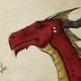 Smaug - Concept art by Sirrolandproduction