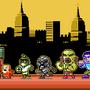 Abobo vs NES world by ionrayner