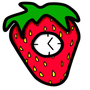 Strawberry Clock by SirBeagle