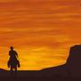 Western sunset by Nyenna