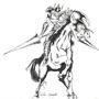 Gaia the Fierce Knight by LukaT