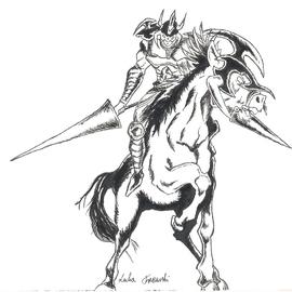 Gaia The Fierce Knight By Lukat On Newgrounds