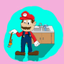 Mario Can't Figure it Out by StraightSquare