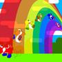 Yoshi's Rainbow by SkruffySteve