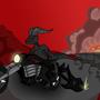 Escape the flames by Mevmillion