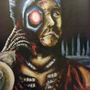 Cyborg Painting by FLASHYANIMATION