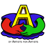 By Artists For Artists logo by artmonkey1979