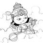Daily Draw #2 - Vishnu by Oye-LKY