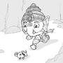 Daily Draw #5- Ganesha by Oye-LKY
