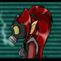 Gas Mask by BeckyRaptor