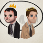 Cas 'n' Crowley by Iceey23