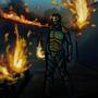 in flames by Bingiz