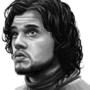 Jon Snow Realism Piece by TheLoyalMeat