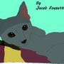 Yasmine the cat by Alien9000