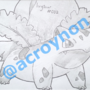 #002 - Ivysaur by Acroy