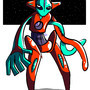 Deoxys by ChazzForte