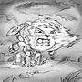 Daily Draw #16 - Narasimha by Oye-LKY