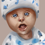 Portrait of a Baby by ReuzakeX