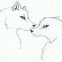 Aww wolves! by MadMistressMisa
