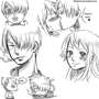 One piece doodles. by Choko17
