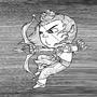 Daily Draw #19 - Rama by Oye-LKY
