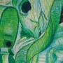 Oil Pastel Analogous Still Lif by scottwjsm