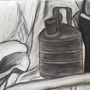 Charcoal Still Life by scottwjsm